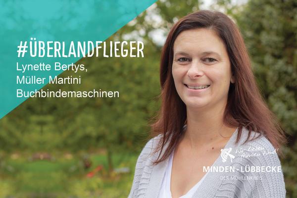 Überlandfliegerin Lynette Bertys
