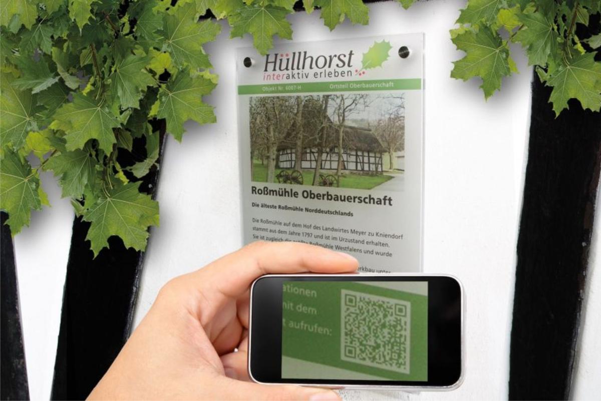 Innovativer Dorfspaziergang Hüllhorst