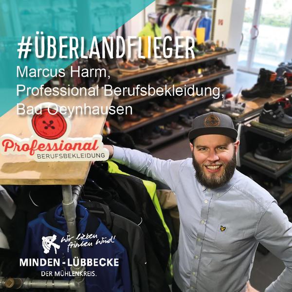 Überlandflieger Marcus Harm, Professional Berufsbekleidung, Bad Oeynhausen