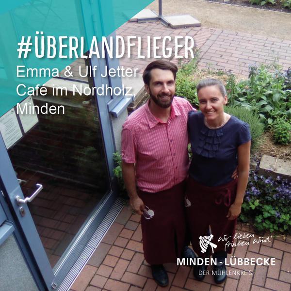 Die Überlandflieger Emma und Ulf Jetter vom Café Nordholz in Minden