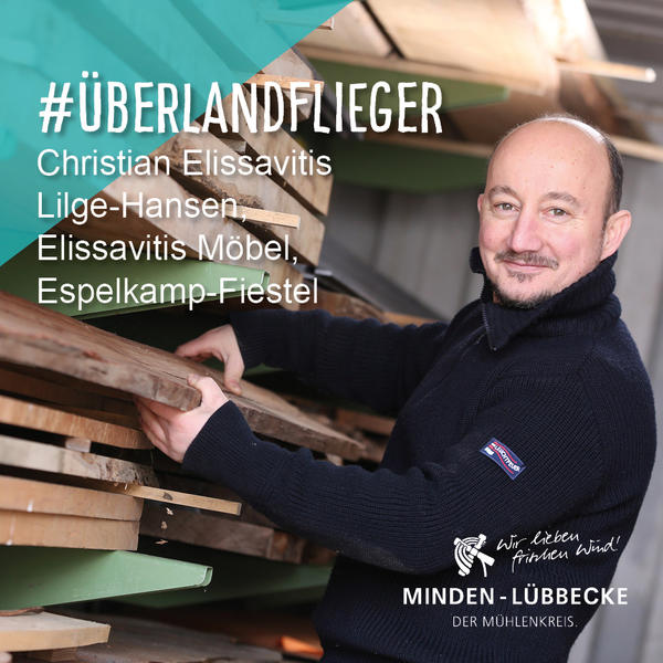 Überlandflieger Christian Elissavitis Lilge-Hansen
